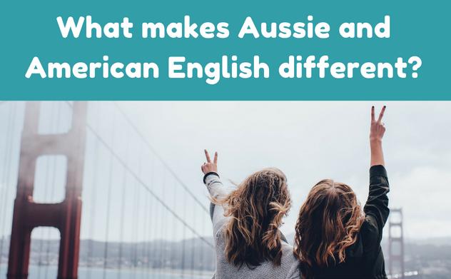 Australian English and Amercian English