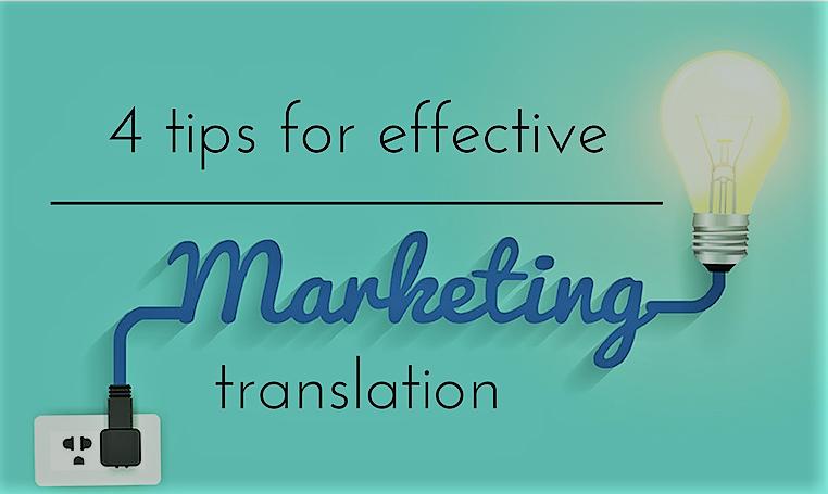 Effective marketing translation tips