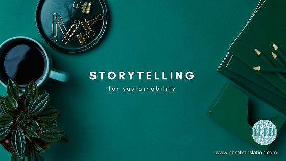 Storytelling for sustainability